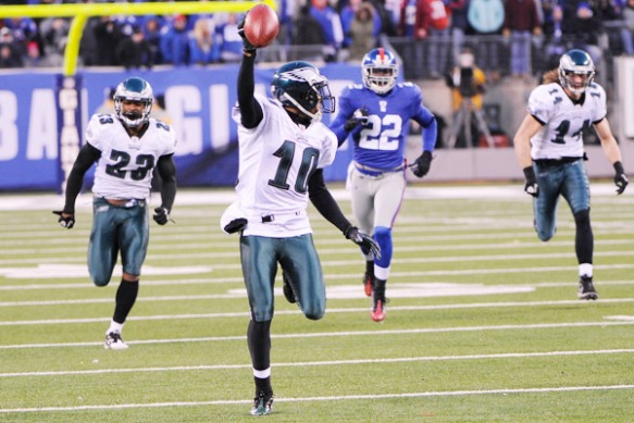 DeSean Jackson is a feast or famine fantasy option for 2013