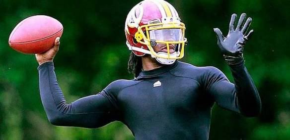 Maybe he is Superman - RG3's fantasy stock is soaring now!