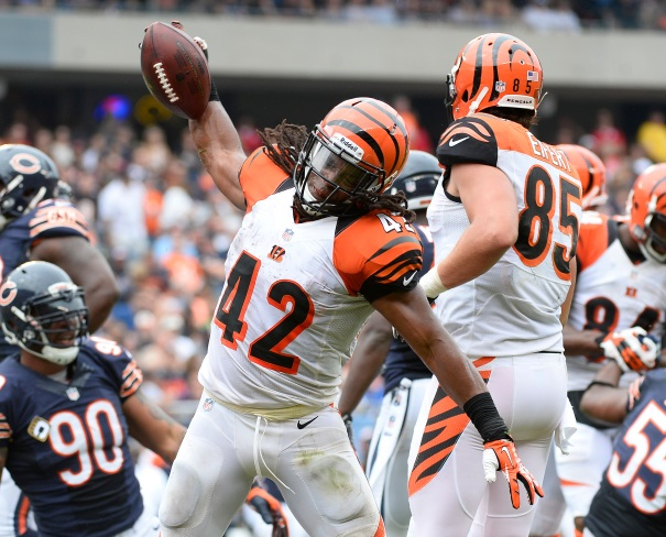 Expect Gio Bernard to push Green-Ellis to the sidelines