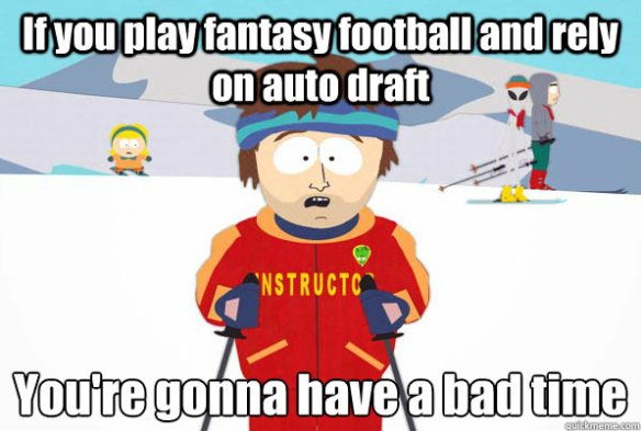 Turning around a bad fantasy draft