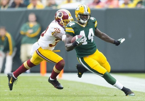 James Starks was the first Packer in two years to rush for 100 yards