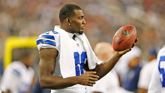 You must start Dez Bryant if he's active to Week 2