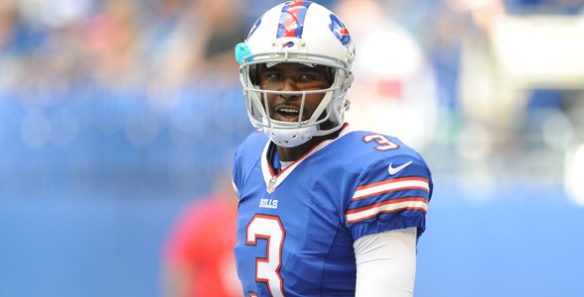 E.J. Manuel will see his first live action agains the Patriots