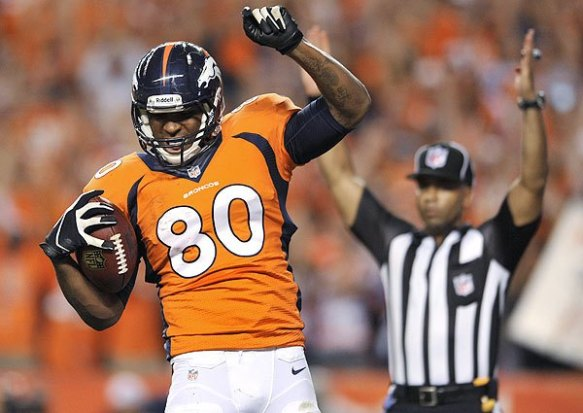 Julius Thomas setting the waiver wire on fire