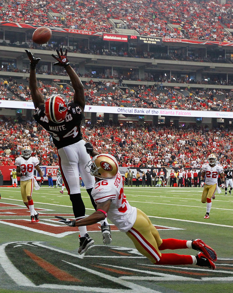Roddy White should have a monster day against the Saints