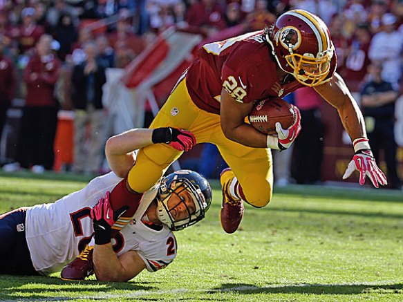 Helu has another shot at a big game against the Broncos