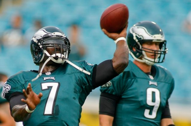 Kelly may stick with Vick until the wheels fall off