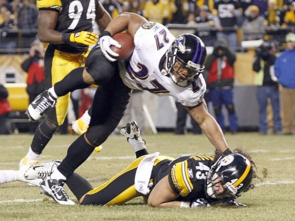 Ray Rice is missing the mark in Baltimore this year