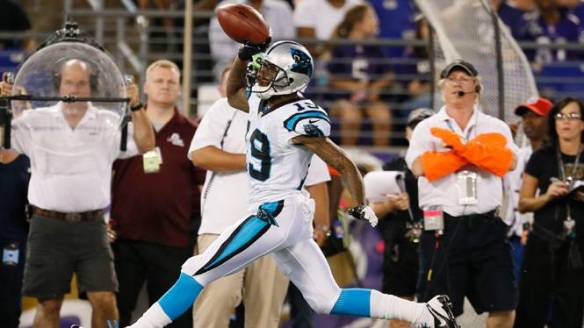 Ginn has found to end zone in back to back games