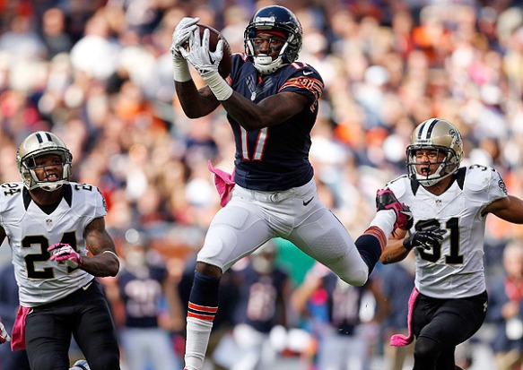 Alshon Jeffery's breakout season is in trouble without Jay Cutler
