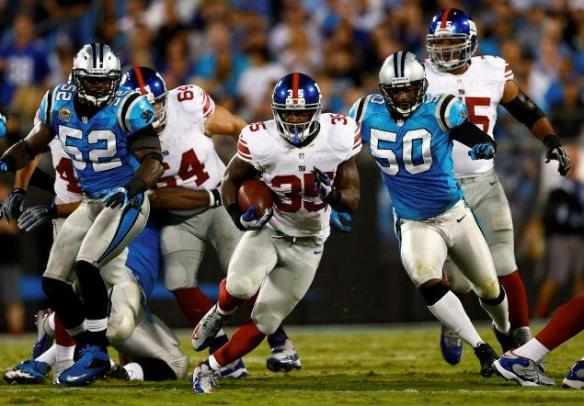 Andre Brown could be front and center for Big Blue by Week 10