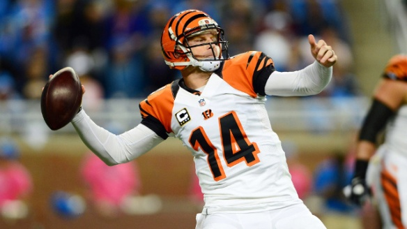 Andy Dalton has fired 11 touchdowns in his past 3 games