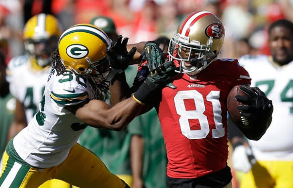 It's been a long time since Boldin's Week 1 romp over the Packers