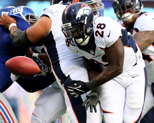 Montee Ball still struggling to hold onto the ball
