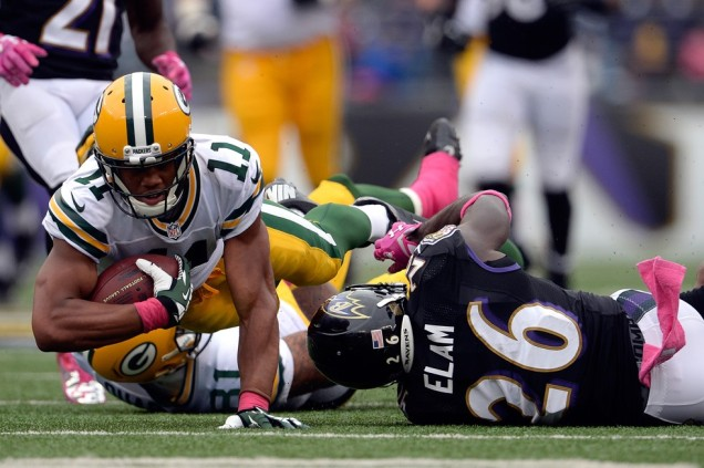 With Cobb out, Aaron Rodgers is locked on to Jarrett Boykin