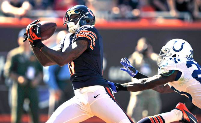 Fantasy owners must ride Alshon Jeffery while he's hot