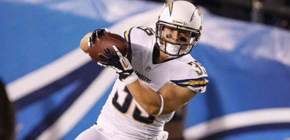 Danny Woodhead is becoming a PPR scoring machine