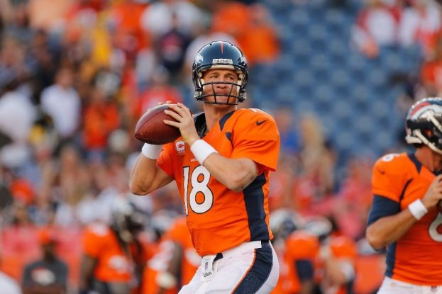 It's all systems go for Peyton during Week 8 against the Redskins