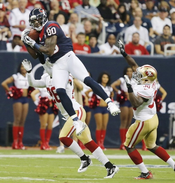 Andre Johnson biggest challenge is trying to stay healthy