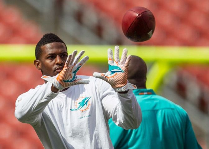 The Dolphins Mike Wallace specializes in underachieving