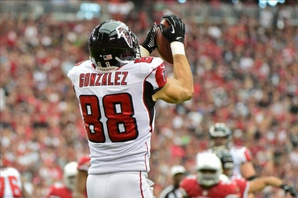 Tony Gonzalez could leave fantasy owners hanging