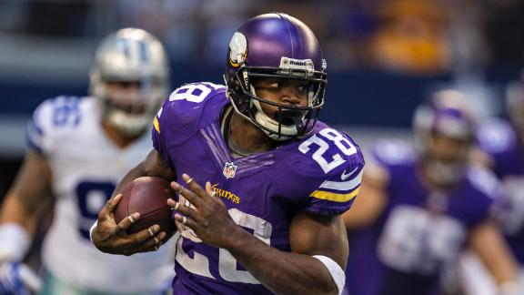 Jennings has been a fantasy bust since moving to Minnesota