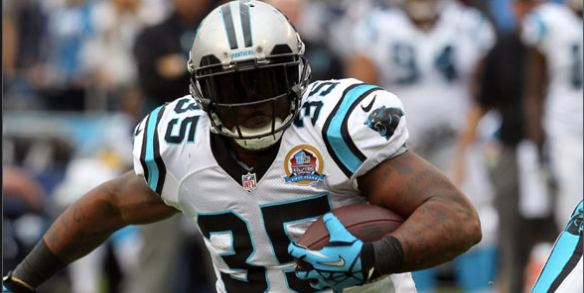 Tolbert is in line for good day against the Falcons run defense