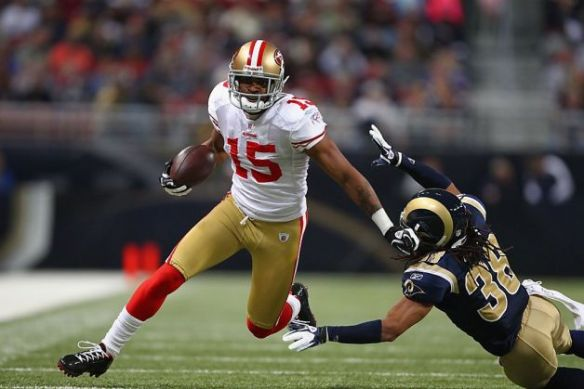 The 49ers are hoping Crabtree can pick up where he left off last season