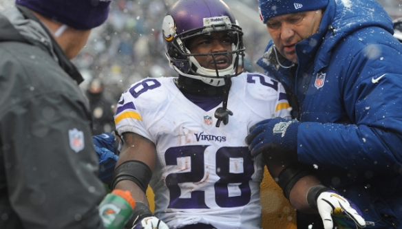 Don't expect Peterson to suit up for Week 15 against the Eagles