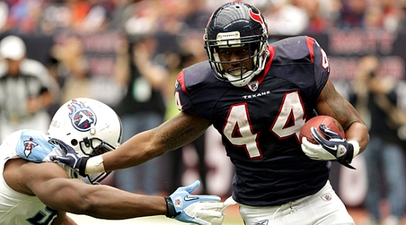 Texans back Ben Tate should have trouble chewing up the Jaguars