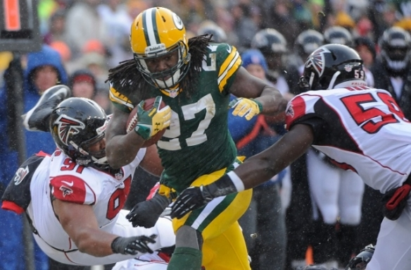 Hopefully, the playing status of Eddie Lacy will clear up by the weekend