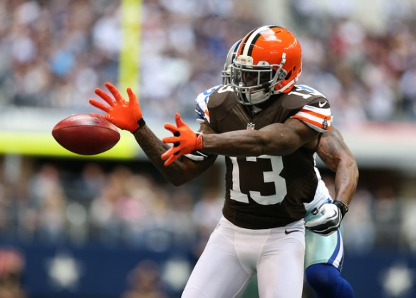 Can Josh Gordon keep the magic going with another Browns backup?