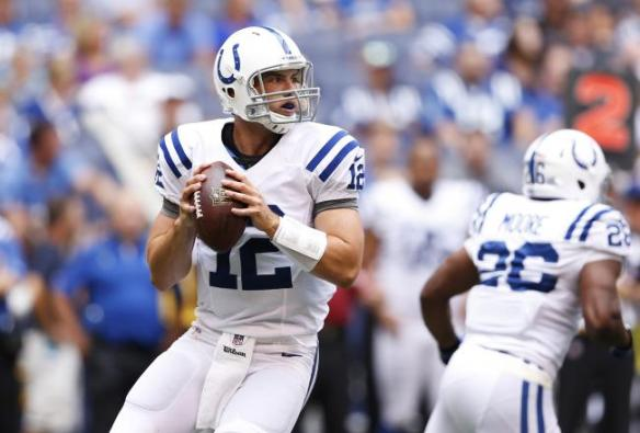 Since Reggie Wayne went down, Luck has let fantasy owners down