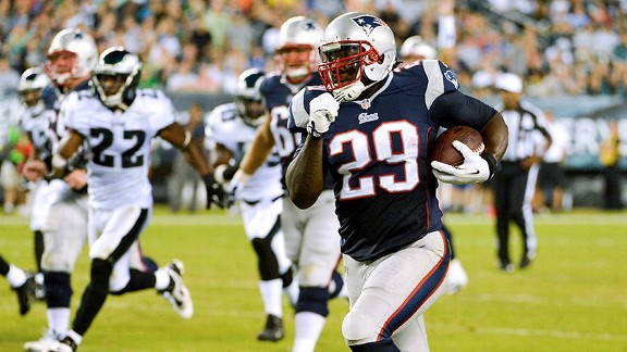 Blount could put up some impressive numbers against the Bills