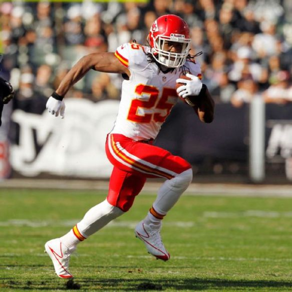 Jamaal Charles either made your day or ruined your season