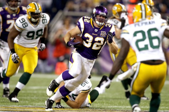 "Toby Gerhart is dealing with a ""TWEAKED"" hammy"
