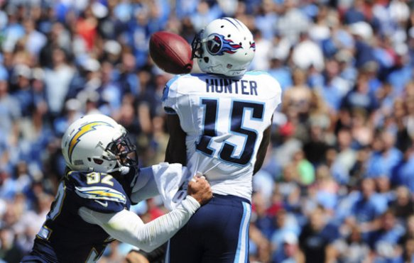Titans Justin Hunter could have a solid outing against the Colts
