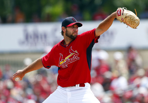 Michael Wacha is on fire coming into the 2015 season