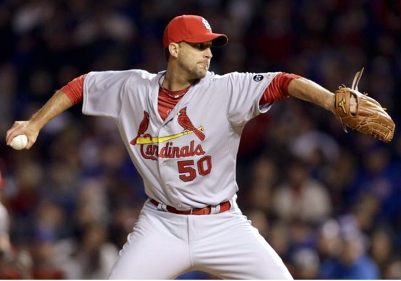 Adam Wainwright shut down the new look Cubs