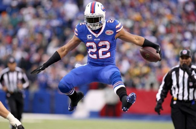 Father Time has apparently caught up with Fred Jackson