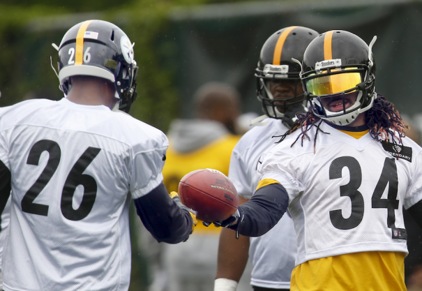 Until Bell returns, De'Angelo Williams will get the rock in Pittsburgh