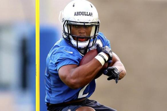 Ameer Abdullah is making an impression at Lions camp