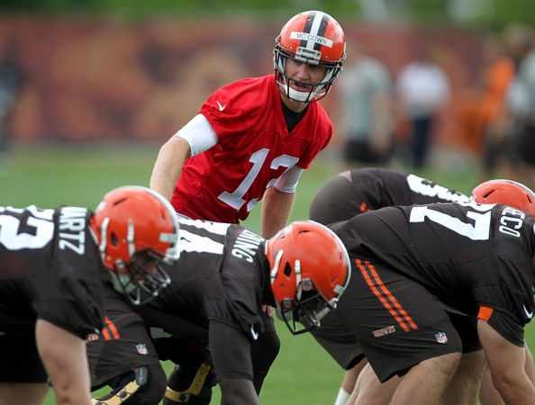 The Browns seem focussed on starting Josh McGown