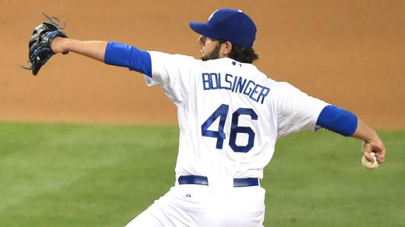 Mike Bolsinger is still carving a path through major league hitters