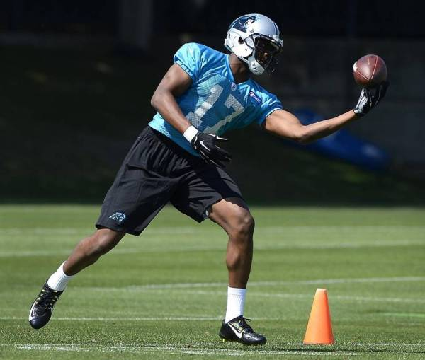 Devin Funchess is a big target, but lacks good hands and speed