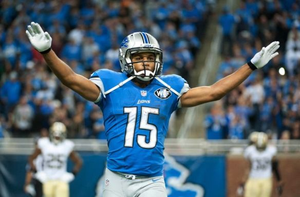 Golden Tate has an uphill climb to equal last year's stats
