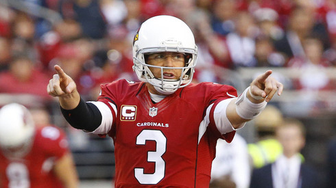 Carson Palmer is always one play away a season ending injury