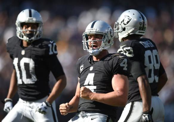 Derek Carr looking to build momentum after stunning the Ravens in Week 2
