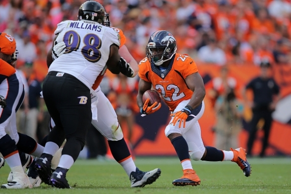 Fantasy owners might consider leaving C.J. Anderson on the bench during Week 2