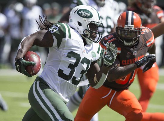 Chris Ivory might leave fantasy owners with a game-time decision on Monday night